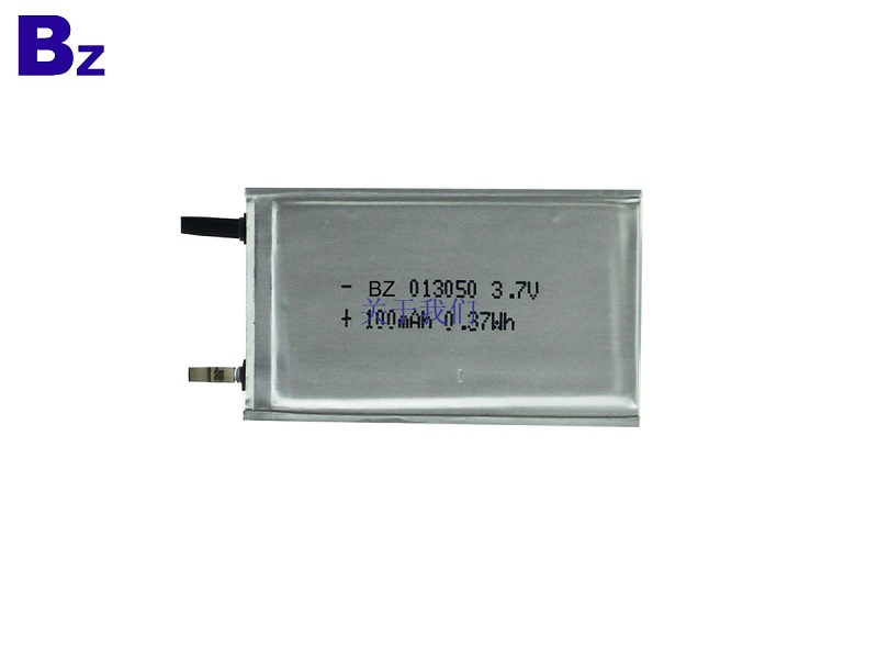 100mah 3.7V Ultra Thin Battery