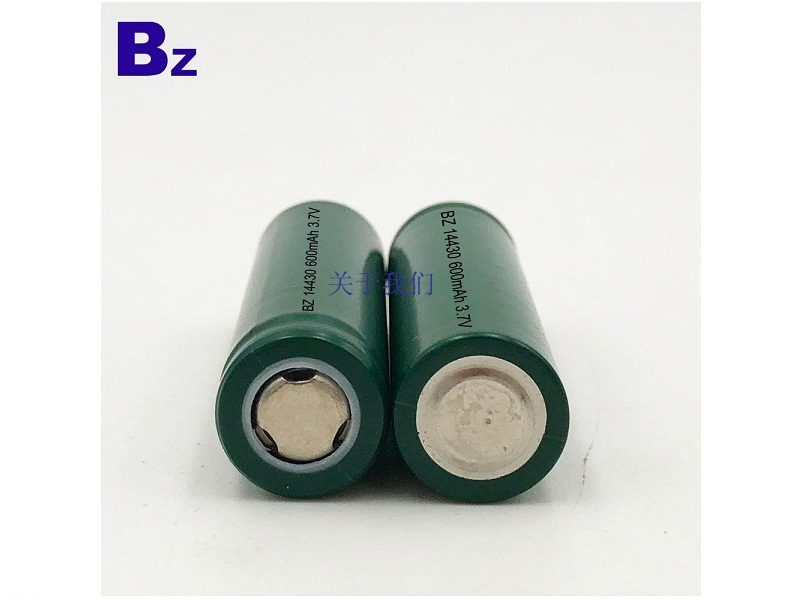 14430 600mAh 3.7V Lithium Ion Battery