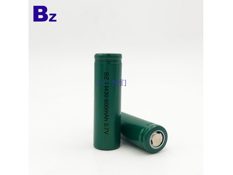 BZ 14430 600mAh 3.7V Lithium Ion Battery