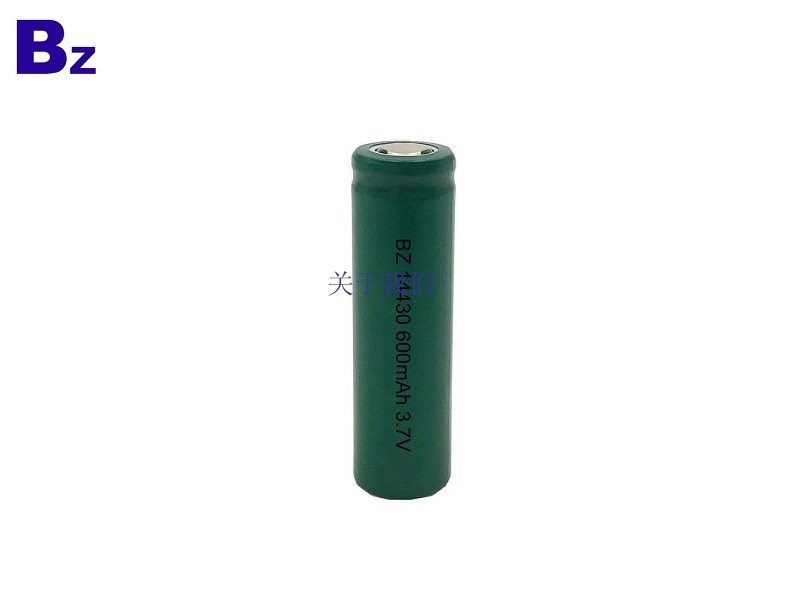 Customized Cylindrical Li-ion Battery BZ 14430 600mAh 3.7V Lithium Ion Battery