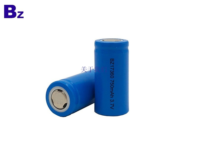 BZ 17360 750mAh 3.7V Rechargeable Li-ion Battery