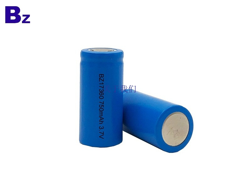 17360 750mAh 3.7V Rechargeable Li-ion Battery