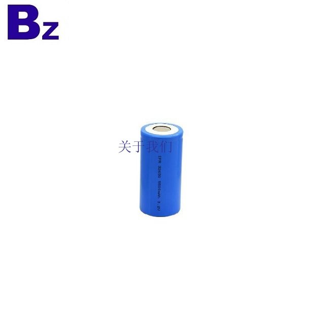 32650 5000mAh 3.2V Cylindrical LiFePO4 Battery Cell
