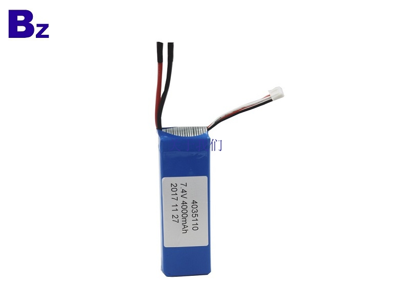 4000mah 7.4V 5C LiPo Battery Pack