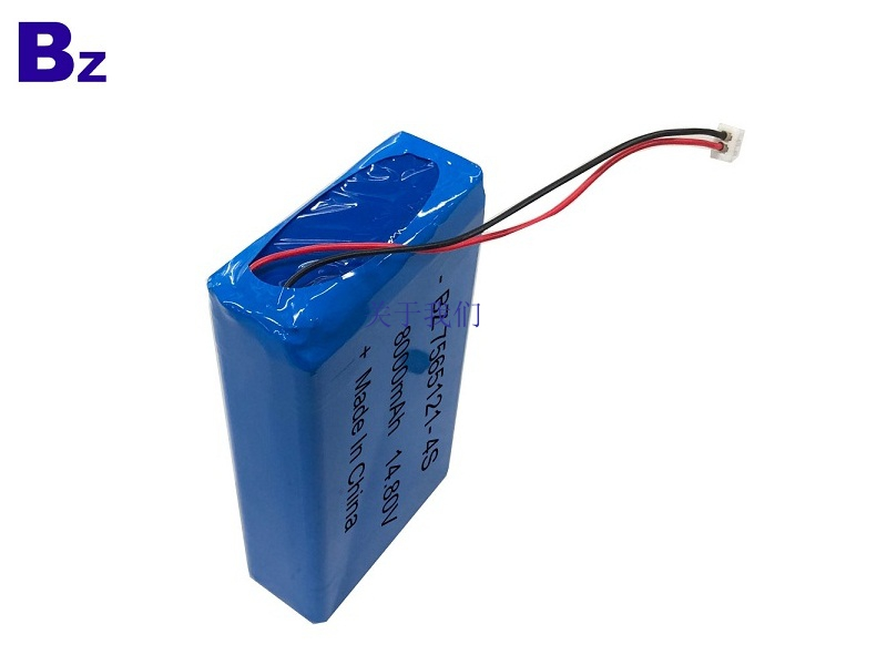 7565121-4S 14.8V 8000mAh Lipo Battery Pack
