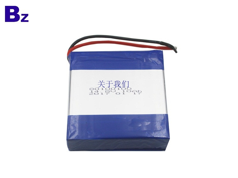 Customized Hot Selling Rechargeable Polymer Li-ion Battery BZ 80100100-4S 14.8V 10AH Lipo Battery Pack